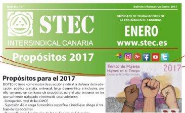 Boletín informativo enero 2017