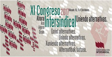 Uniendo alternativas: XI Congreso de la Confederación Intersindical