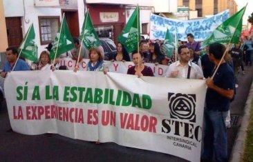 El STEC-IC denuncia la hipocresía de las Administraciones respecto a las Oposiciones 2017 y el profesorado interino