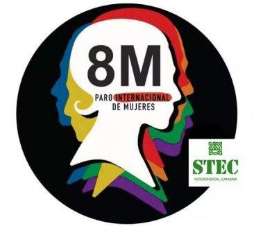 La Confederación Intersindical y el STEC-IC convocan paros parciales el 8 de marzo