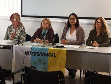 Intersindical Canaria se suma al Paro Internacional de Mujeres del 8 de marzo