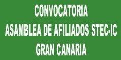 Convocatoria Asamblea insular de afiliados/as de Gran Canaria