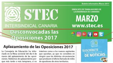 Boletín informativo marzo 2017