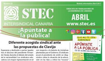 Boletín informativo abril 2017