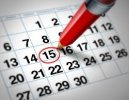 Fechas previstas Concurso de Traslados y Adjudicación Provisional