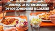 Coalición Canaria sigue desmantelando los Comedores Escolares Públicos