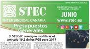 Boletín Informativo STEC-IC Junio 2017