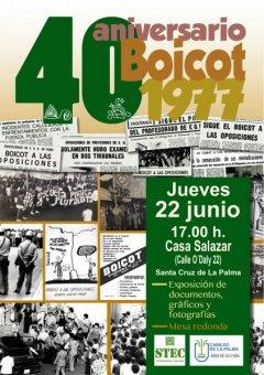 El STEC conmemora los 40 años del boicot a las oposiciones de EGB