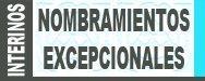 Convocatoria de nombramientos excepcionales maestros, secundaria y otros