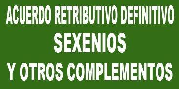 Acuerdo sobre el marco retributivo del personal docente no universitario de Canarias (Sexenios y Otros Complementos)