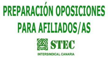 Preparación oposiciones 2018 para afiliados/as al STEC-IC
