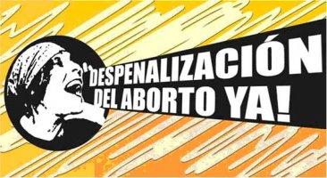 La Confederación Intersindical por la despenalización del aborto