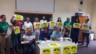 Presentado públicamente el Manifiesto ciudadano ¡Por un 4% para Educación ya!