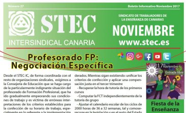 Boletín Informativo STEC-IC Noviembre 2017