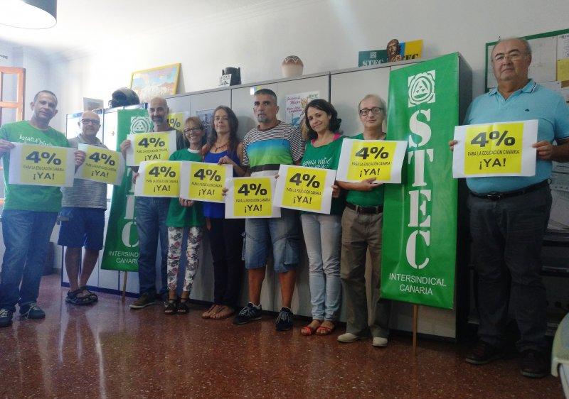El STEC-IC considera decepcionantes los presupuestos educativos para 2018