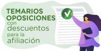 Temarios para las oposiciones docentes con descuentos para la afiliación del STEC-IC