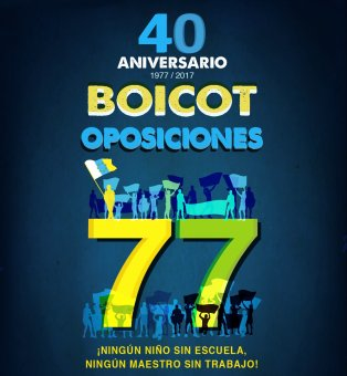 Exposición por el 40º aniversario del Boicot a las Oposiciones de 1977
