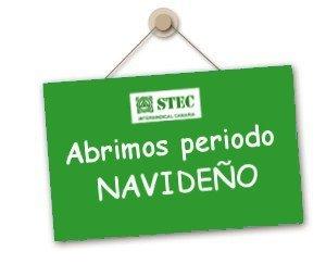 Horarios de atención del STEC-IC en periodo navideño