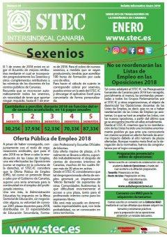 Boletín Informativo STEC-IC enero 2018