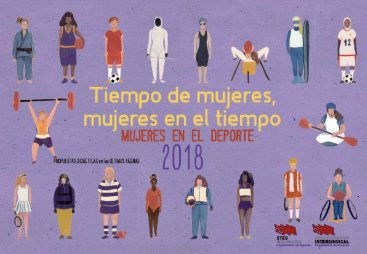 Calendario de Mujer 2018. Mujeres en el deporte