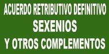 Publicación en el BOC del Acuerdo retributivo de Sexenios y otros complementos