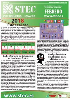 Boletín Informativo STEC-IC febrero 2018