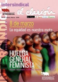 Revista El Clarión número 49 dedicado al 8 de marzo