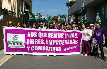Éxito de la Huelga General Feminista en el ámbito educativo