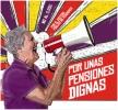 Recogida de firmas por unas Pensiones dignas