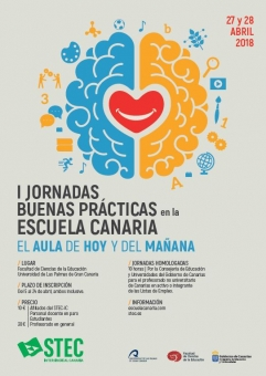 I Jornadas Buenas Prácticas en la Escuela Canaria. El aula de hoy y del mañana
