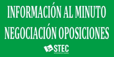 Información al minuto de la Mesa Sectorial del jueves 26 de abril sobre las oposiciones 2018