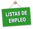 Lista provisional de admitidos y excluidos ampliación de Listas de Empleo Secundaria