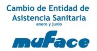 Cambio de entidad sanitaria para funcionarios/as adscritos a MUFACE