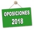 Distribución de aspirantes por especialidades Oposiciones docentes 2018