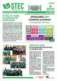 Nuevo Boletín Informativo STEC-IC junio 2018