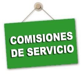Listado provisional de admitidos, excluidos y renuncias Comisiones de Servicio Secundaria y Otros Cuerpos