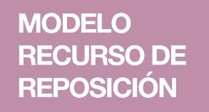 Modelo de Recurso de Reposición a las Listas definitivas de las Oposiciones 2018