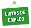 Aclaraciones a la presentación de méritos para las Listas de Empleo