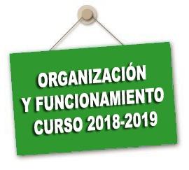 Instrucciones de organización y funcionamiento para centros públicos curso 2018/19