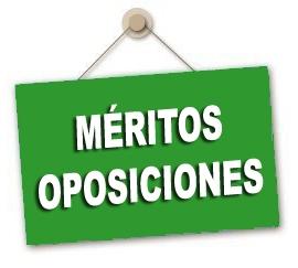 Aportación de méritos para las Oposiciones docentes
