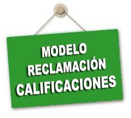 Información y modelo de reclamación a las calificaciones de las Oposiciones 2019