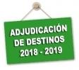 Adjudicación provisional destinos Secundaria y Otros Cuerpos. Funcionarios en prácticas y profesorado interino