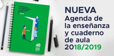 Agenda y Cuaderno de Aula editable del STEC-IC para descarga libre