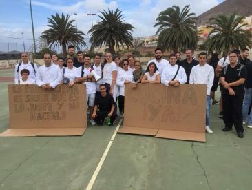 El STEC-IC apoya al alumnado y al profesorado de la familia de hostelería del IES Santa María de Guía