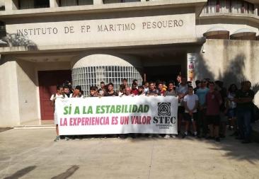 El STEC-IC reclama que se cubran con urgencia las vacantes del Instituto Marítimo Pesquero de SC de Tenerife