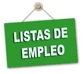Abierto el plazo para la presentación de requisitos Listas de Empleo Oposiciones 2018