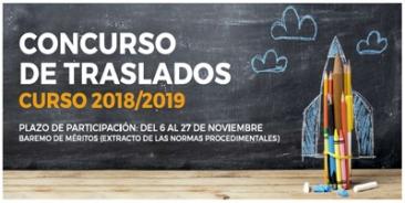 Consulta nuestro resumen del baremo de méritos para el Concurso de Traslados 2018-2019