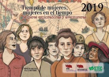 Calendario de Mujer 2019: Mujeres exploradoras y aventureras