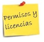 Manual y modelo para la solicitud de permisos y licencias