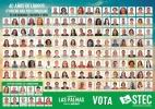 Candidatura del STEC-IC en la provincia de Las Palmas ¡VOTA STEC-IC!